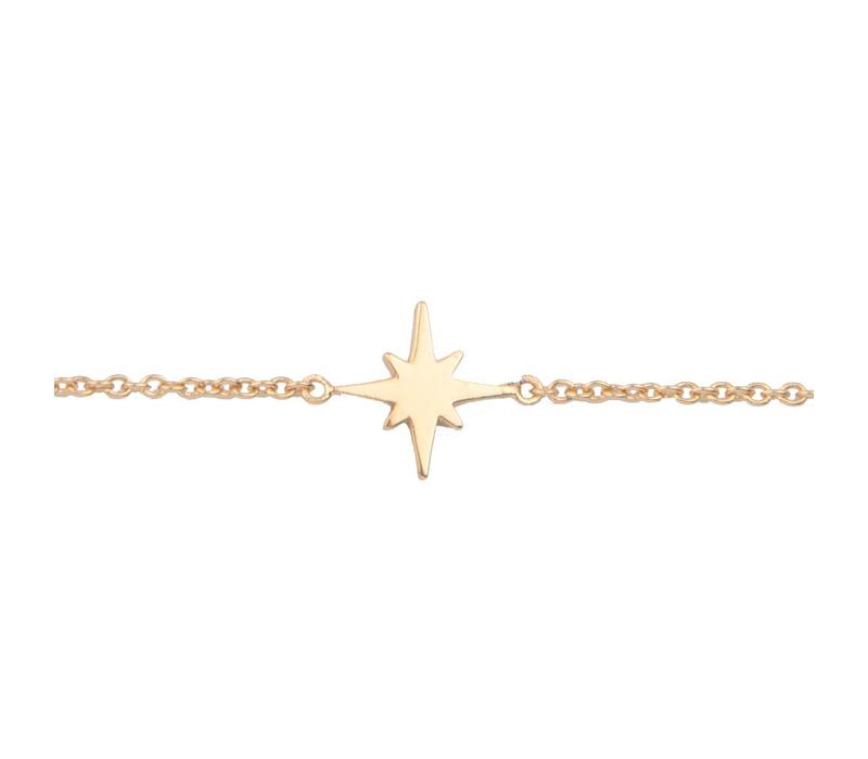 Bracelet Star Burst plated
