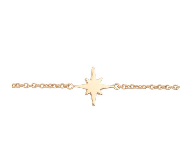 Souvenir Goldplated Bracelet Star Burst