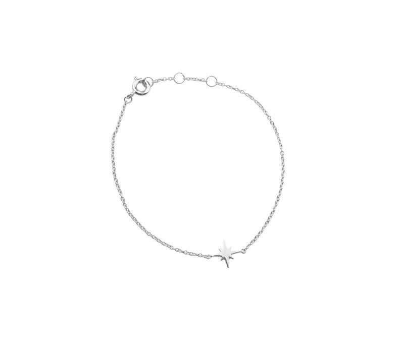 Armband Starburst zilver