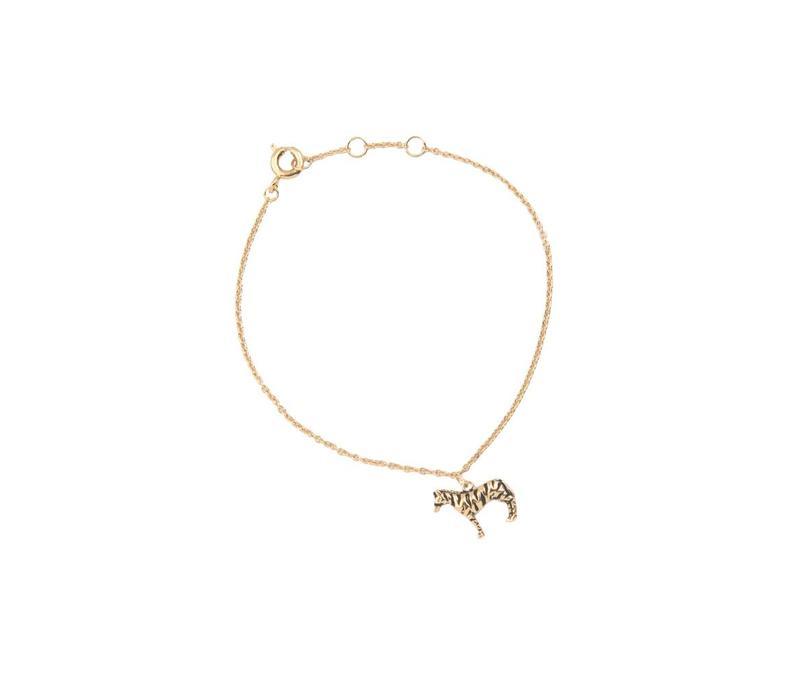 Armband Zebra goud