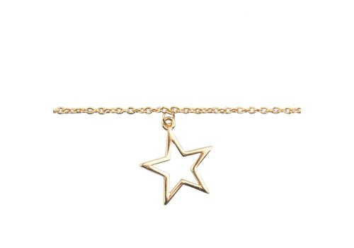 All the Luck in the World Bracelet Star gold
