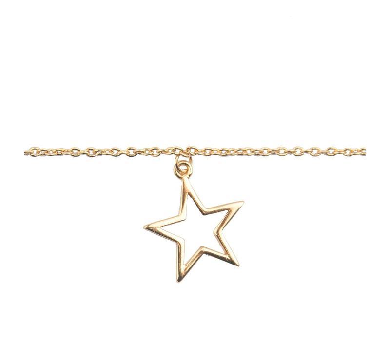 Bracelet Star gold