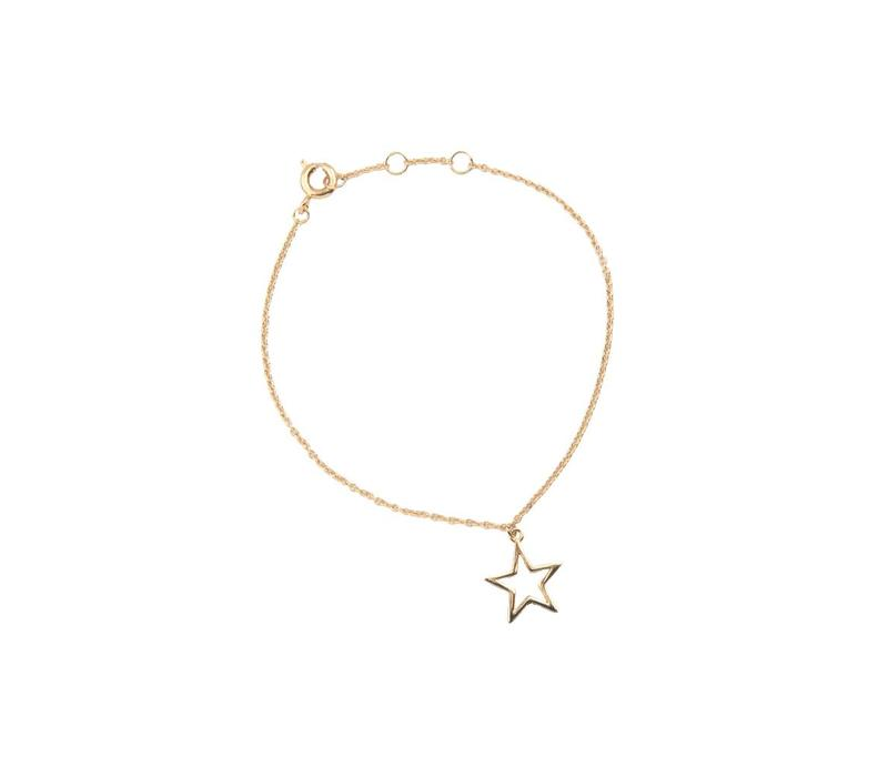 Souvenir Goldplated Bracelet Star