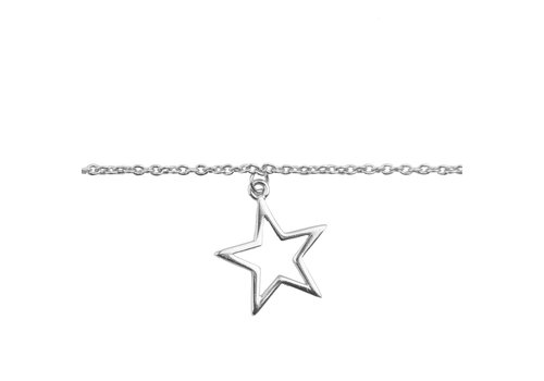 All the Luck in the World Souvenir Silverplated Bracelet Star
