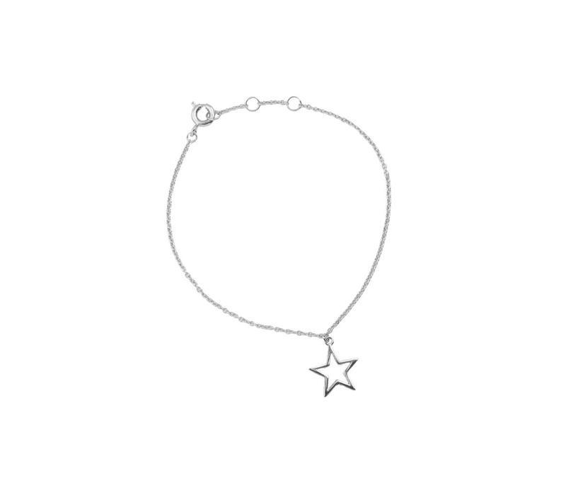 Souvenir Silverplated Bracelet Star