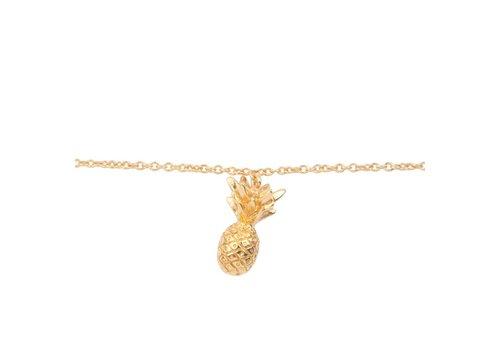 All the Luck in the World Bracelet Pineapple