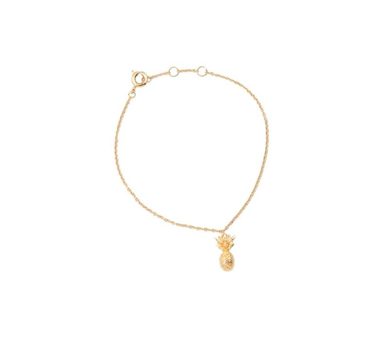 Bracelet Pineapple plated