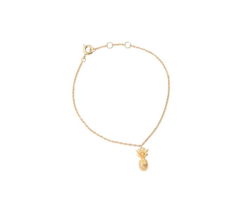 Souvenir Goldplated Bracelet Pineapple