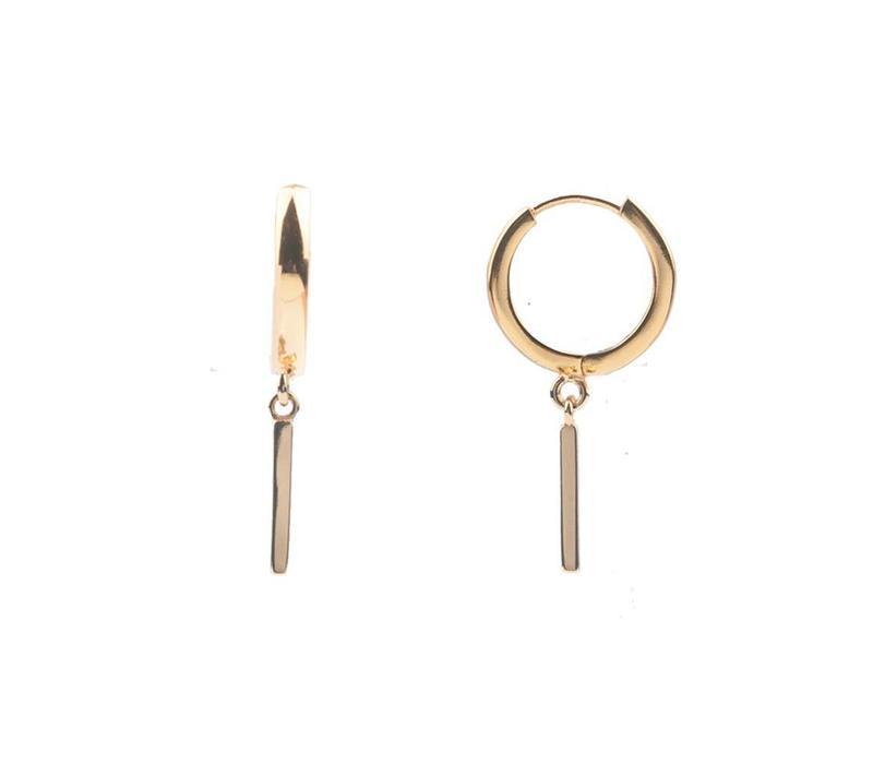 Souvenir Goldplated Earring Bar