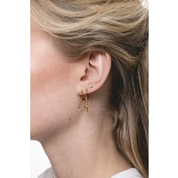 Souvenir Goldplated Earring Circle