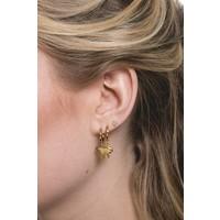 Earring Eagle plated