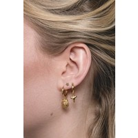 Earring Lion gold