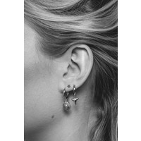 Earring Lion plated