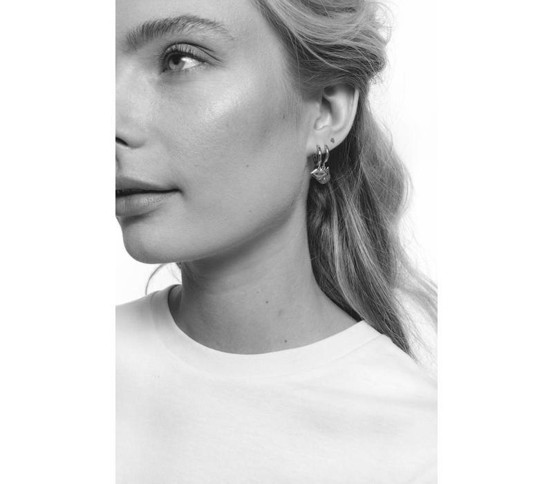 Earring Lips silver