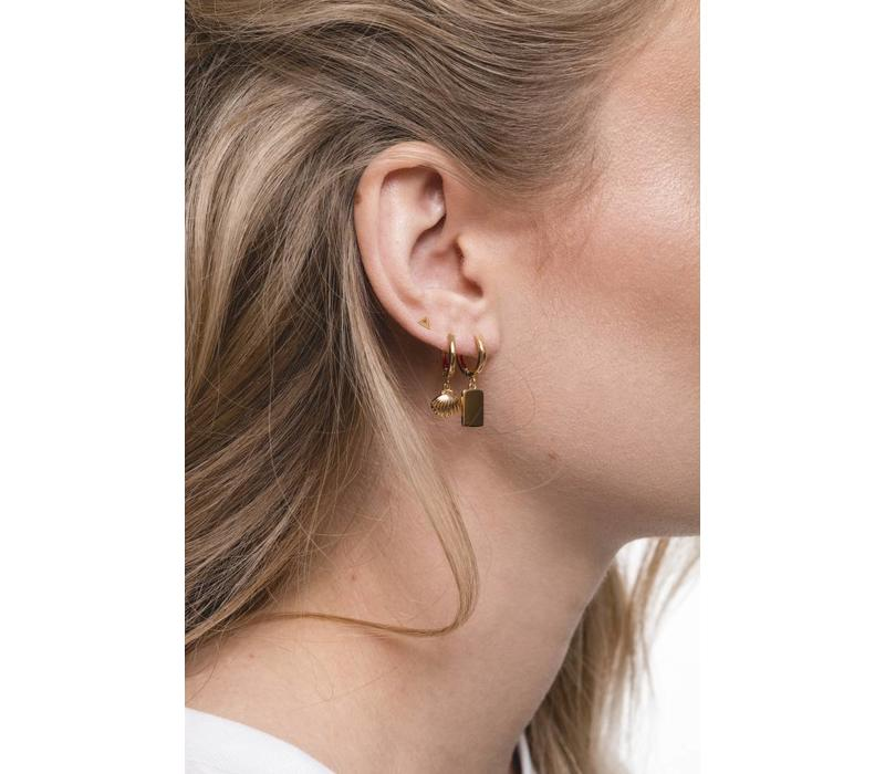 Earring Sea Shell gold