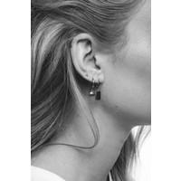 Souvenir Silverplated Earring Sea Shell