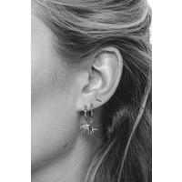 Souvenir Silverplated Earring Elephant