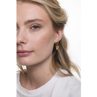 Earring Cactus gold