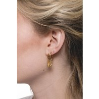 Earring Cactus plated