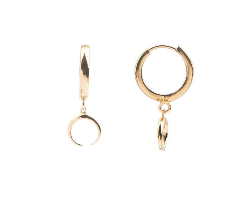 Earring Horn gold