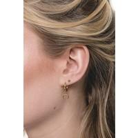 Souvenir Goldplated Earring Horn