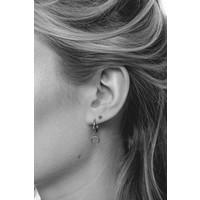 Souvenir Silverplated Earring Horn
