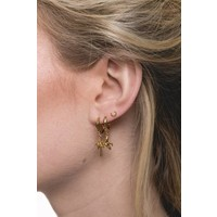 Souvenir Goldplated Earring Palm Tree