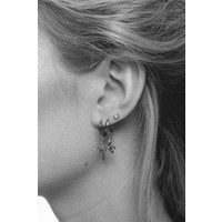 Earring Palm Tree silver