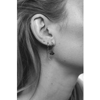 Earring Long Moon silver