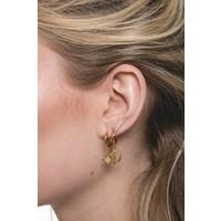 Souvenir Goldplated Earring Star Burst