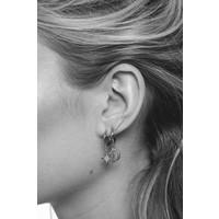 Souvenir Silverplated Earring Star Burst