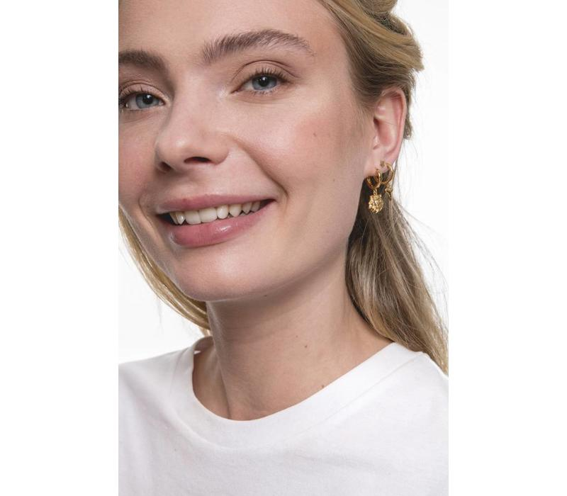Souvenir Goldplated Earring Tooth