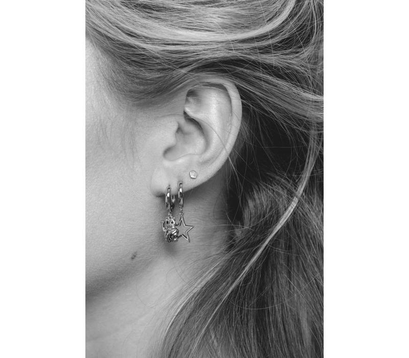 Souvenir Silverplated Earring Star