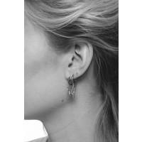 Souvenir Silverplated Earring Pineapple