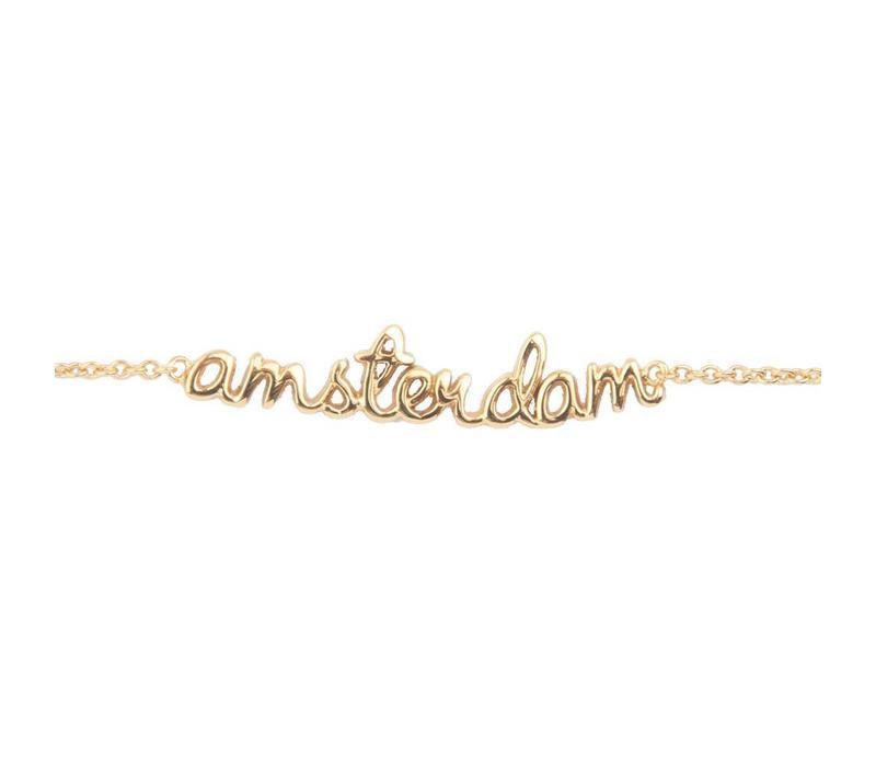 Armband Amsterdam goud