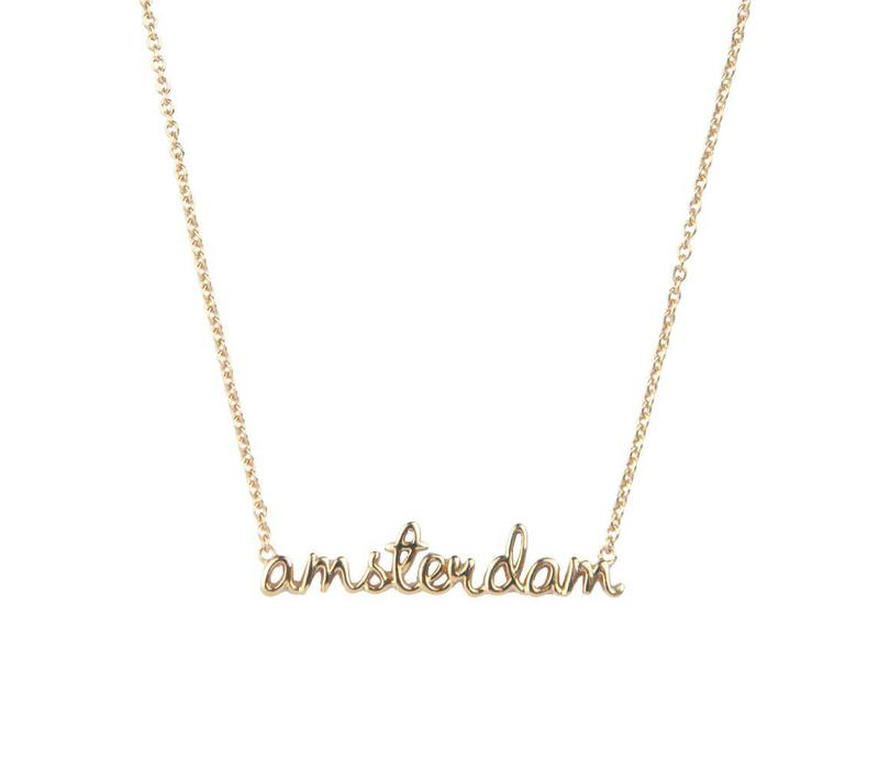 Necklace Amsterdam plated