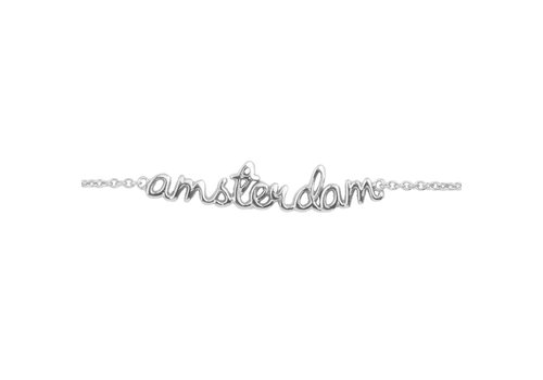 All the Luck in the World Urban Silverplated Bracelet Amsterdam