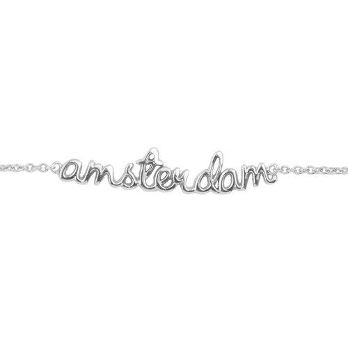 Armband Amsterdam zilver
