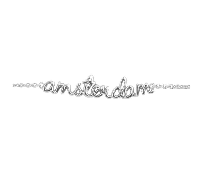 Armband Amsterdam zilver