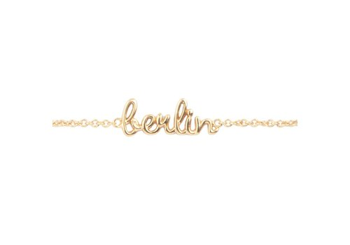 All the luck in the world Armband Berlin goud