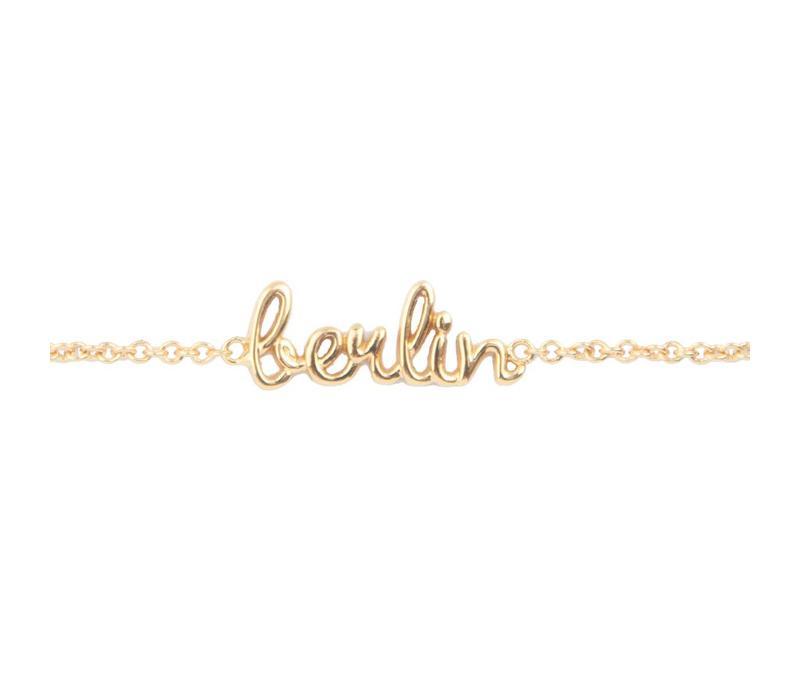 Urban Goldplated Bracelet Berlin