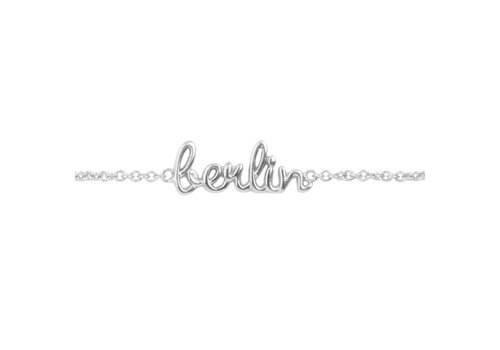 All the Luck in the World Urban Silverplated Bracelet Berlin