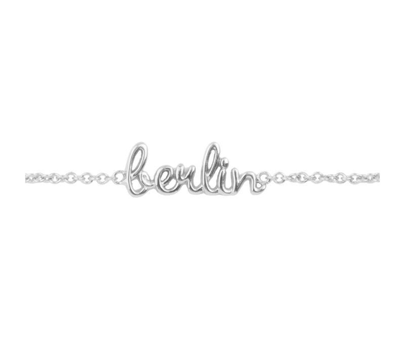Armband Berlin zilver