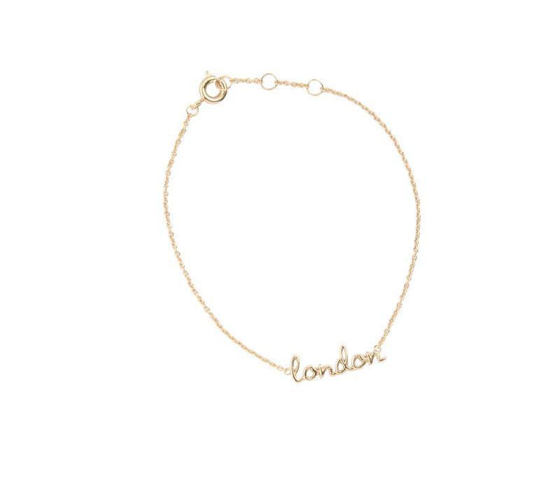Armband London verguld