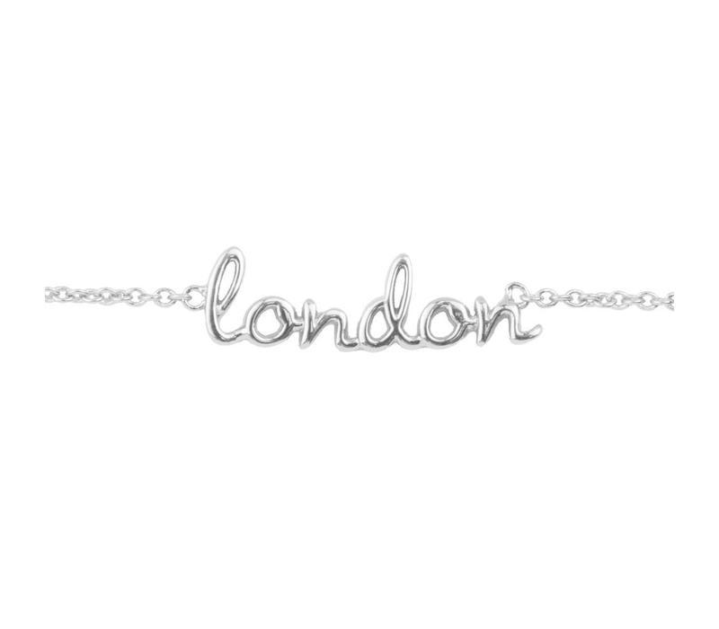 Urban Silverplated Bracelet London