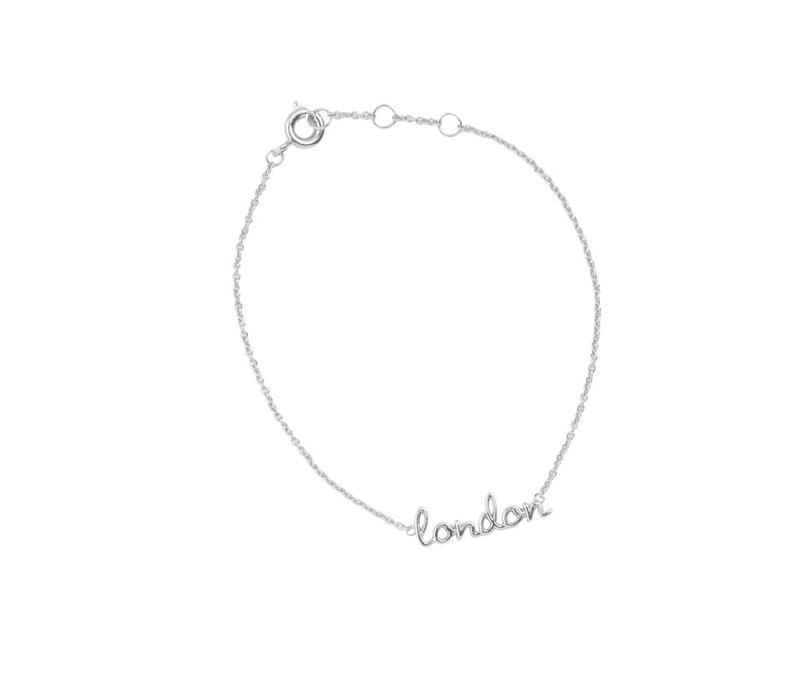 Armband London zilver