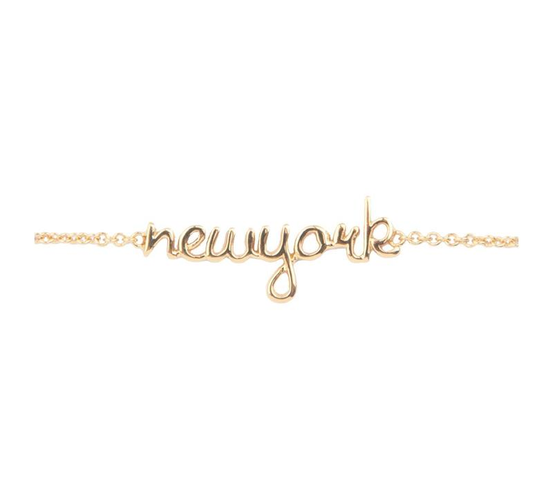 Bracelet New York gold