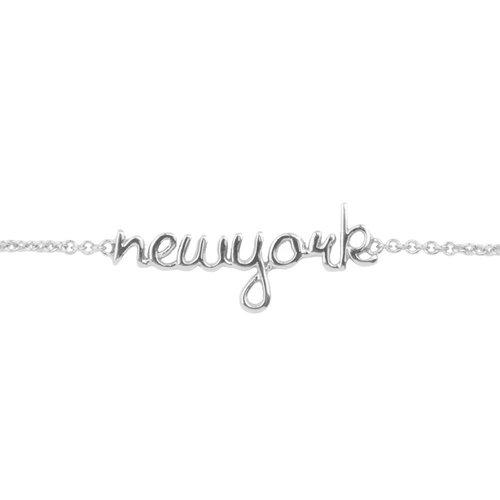 Urban Silverplated Armband New York