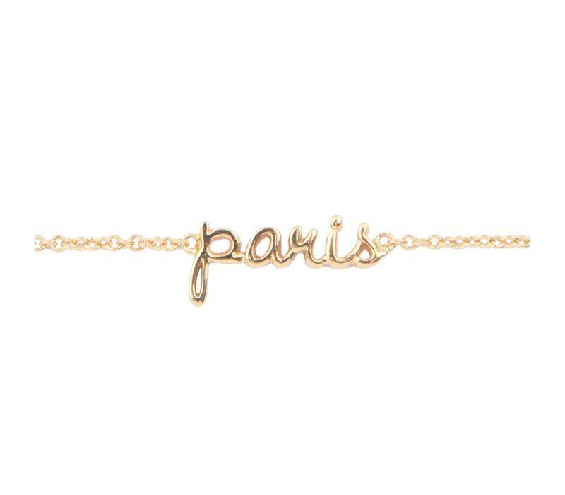 Bracelet Paris plated