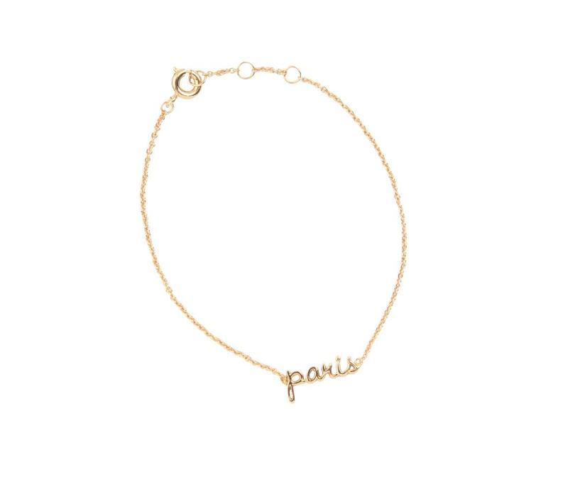 Armband Paris goud